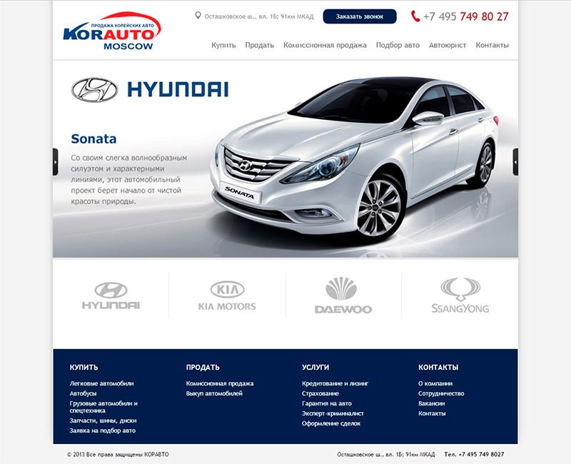 Продажа корейских авто