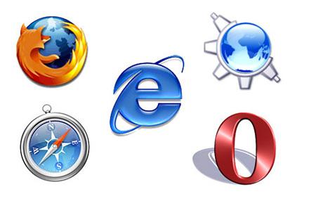 Свое содержимое для каждого конкретного браузера