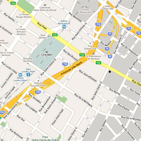 Поменять язык карты Google